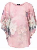 Printed Embellished Chiffon Top Blush - Gallery Image 1