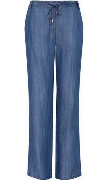 Anna Rose Pull On Trousers Blue
