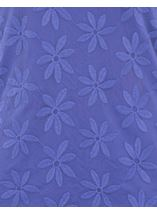 Anna Rose Embroidered Mesh Layered Top Iris - Gallery Image 4