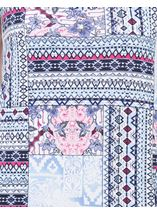 Anna Rose Printed Vest Top Navy Tile - Gallery Image 4