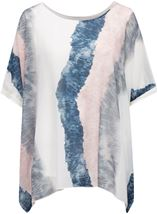 Printed Chiffon Layer Top Multi - Gallery Image 1
