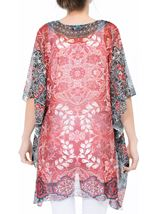 Printed Georgette Cover Up Pepper - Gallery Image 3