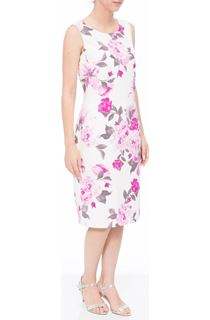 Anna Rose In Bloom Shantung Midi Dress