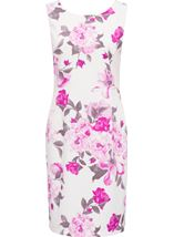 Anna Rose In Bloom Shantung Midi Dress Pepper Red/White - Gallery Image 1