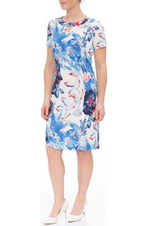Anna Rose Floral Printed Midi Dress