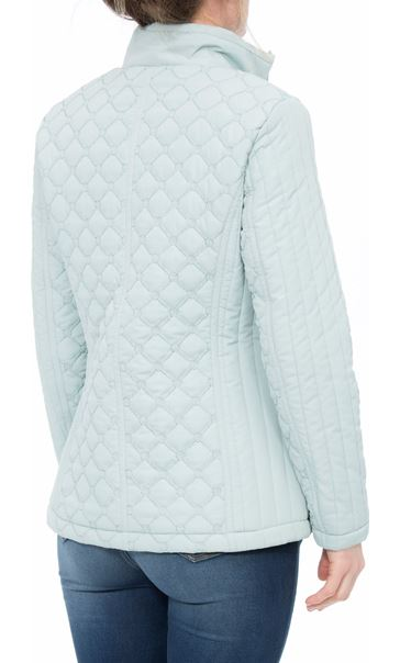 Anna Rose Quilted Coat Mint - Gallery Image 3