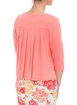 Anna Rose Embellished Jersey Cover Up Coral - Gallery Image 2