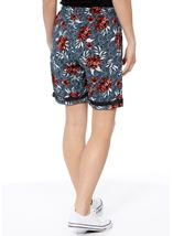 Floral Printed Pull On Shorts Multi Airforce - Gallery Image 3