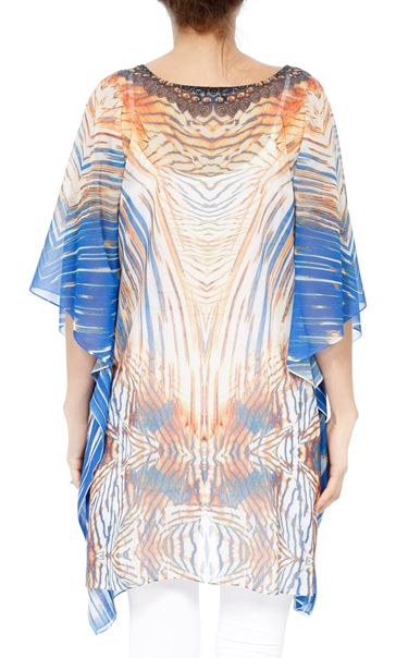 Printed Georgette Cover Up