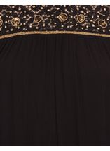 Sleeveless Lace Trim Top Black/Gold - Gallery Image 4
