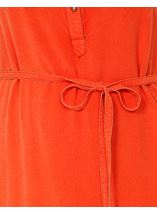 Washed Denim Look Tunic Tangerine - Gallery Image 4