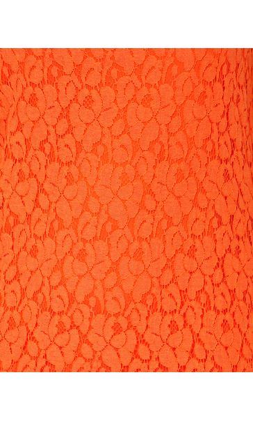 Sleeveless Lace Layered Top Tangerine - Gallery Image 4