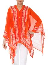Convertible Georgette Cover Up