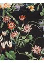 Floral Print Stretch Top Black/Multi - Gallery Image 4