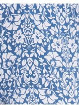 Anna Rose Printed Jersey Pull On Trouser Blue/White - Gallery Image 4