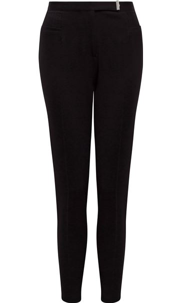 Narrow Leg Trousers Black