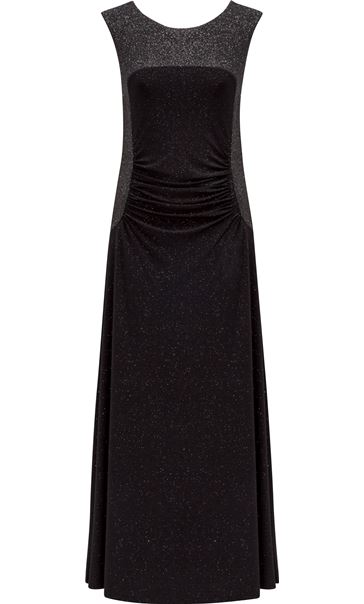 Sparkle Sleeveless Maxi Dress Black