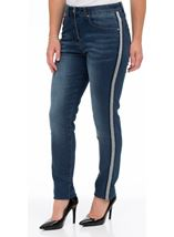 Relaxed Skinny Jeans Denim Blue - Gallery Image 2