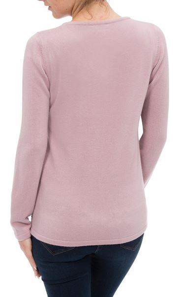 Anna Rose Embellished Knit Top Heather - Gallery Image 2