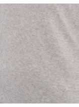 Lightweight Knitted Turtle Neck Top Grey Marl - Gallery Image 4