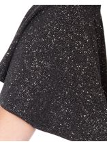 Bell Sleeve Sparkle Open Cover Up Black/Silver - Gallery Image 4