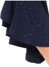 Bell Sleeve Sparkle Open Cover Up Midnight - Gallery Image 4