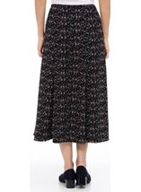 Anna Rose Panelled Printed Midi Skirt Multi - Gallery Image 3