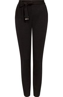 Tapered Leg Shimmer Trousers