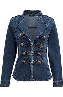 Military Denim Jacket