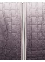 Ombre Quilted Zip Coat Natural - Gallery Image 4