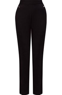 Anna Rose Straight Leg Trousers 27 inch - Black