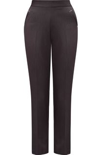 Anna Rose Straight Leg Trousers 27 inch - Grey