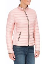 Short Quilted Jacket Pink - Gallery Image 1