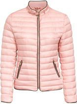 Short Quilted Jacket Pink - Gallery Image 3