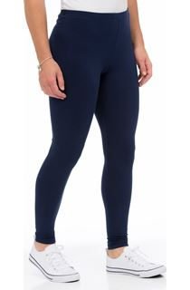 Full Length Jersey Leggings - Midnight