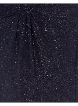 Tapered Leg Sparkle Stretch Trousers Midnight/Rainbow - Gallery Image 4