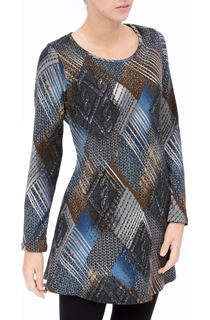 Long Sleeve Knitted Tunic