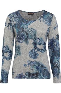 Anna Rose Floral Knit Top