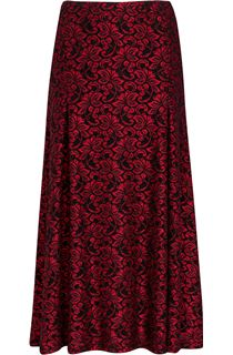 Anna Rose Sparkle Lace Midi Skirt