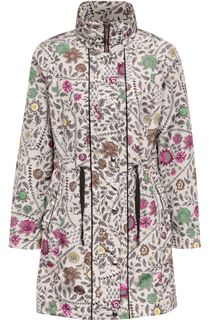 Floral Print Lightweight Coat