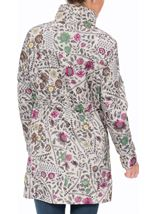 Floral Print Lightweight Coat Winter Floral - Gallery Image 3