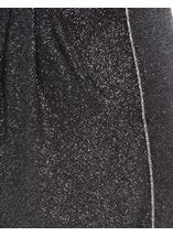 Anna Rose Wide Leg Glitter Trousers Black/Silver - Gallery Image 4