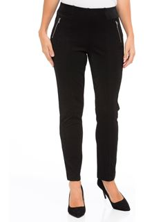 Shimmer Pull On Slim Leg Trousers