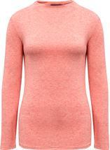 Lightweight Knitted Turtle Neck Top Orange - Gallery Image 4