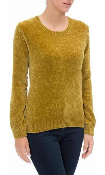 Long Sleeve Chenille Top Pistachio