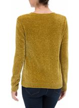 Long Sleeve Chenille Top Pistachio - Gallery Image 2