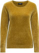 Long Sleeve Chenille Top Pistachio - Gallery Image 3