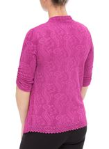 Anna Rose Sparkle Moc Top And Cover Up Pink - Gallery Image 3