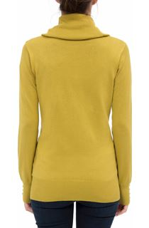 Cowl Neck Knit Top - Pistachio