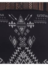 Lace Trim Jersey Top Black - Gallery Image 4